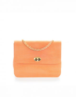 AIL Bags Al Mahara Purse Orange Front