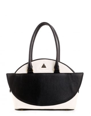 AIL Bags Antonia Two Black and White Front