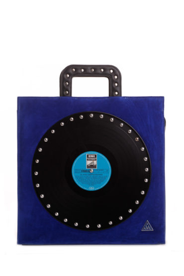 AIL Bags CH2 Vinyls One Blue Camosh Front