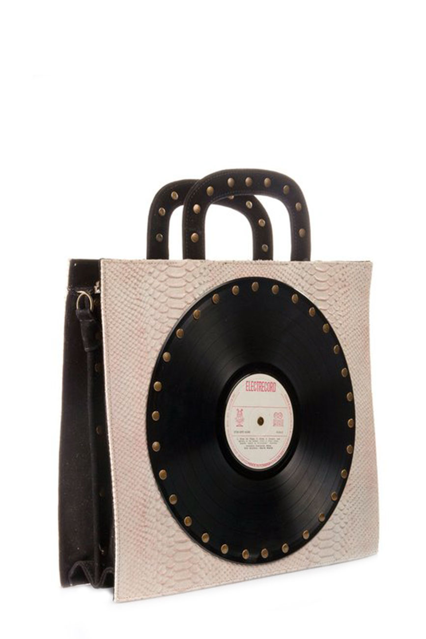 AIL Bags CH2 Vinyls One Pink and Black Front
