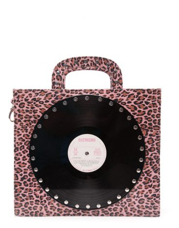 AIL Bags CH2 Vinyls One Pink Animal Print Front