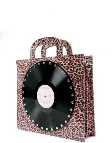 AIL Bags CxH2 Vinyls One Pink Animal Print Side