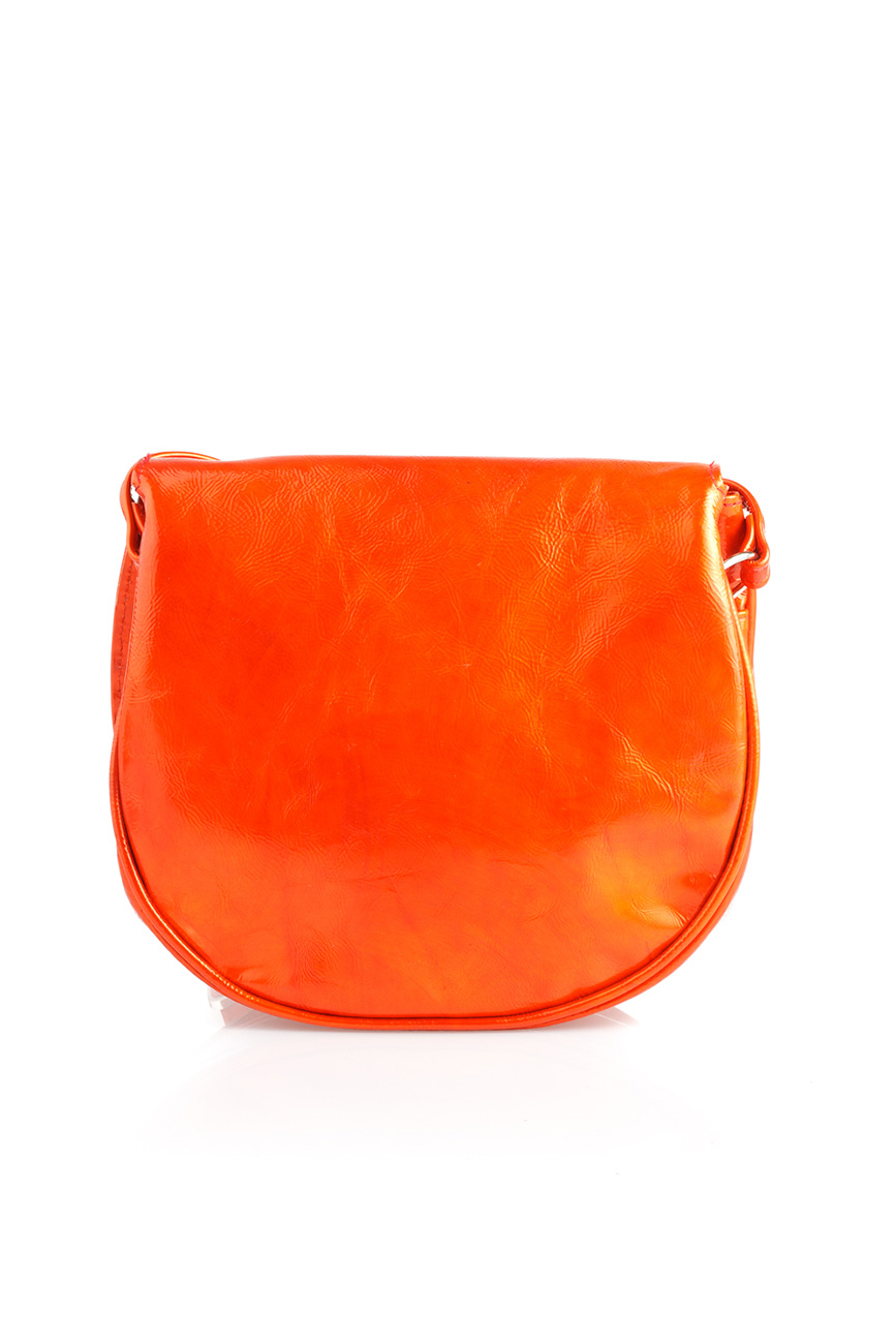 AIL Bags CH2 Vinyls Orange Shoulder Back
