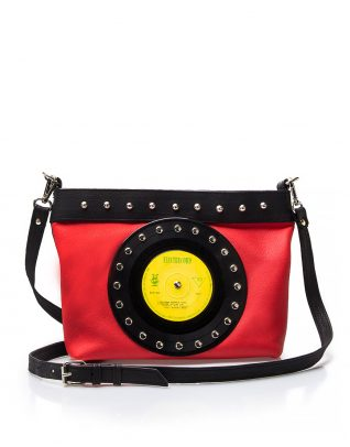 AIL Bags CH2 Vinyls Red-Black Clutch