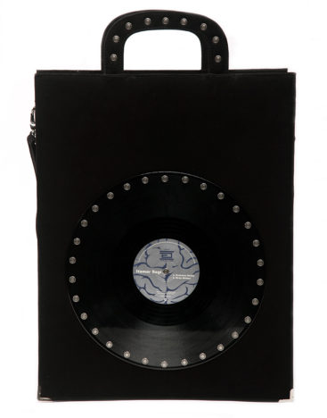 AIL Bags CH2 Vinyls Tall Briefcase Two Front