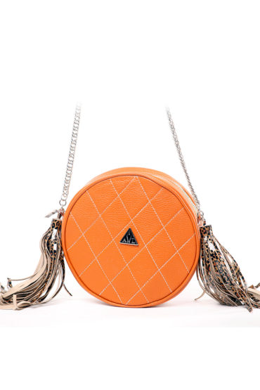 AIL Bags Fringe Circle Front