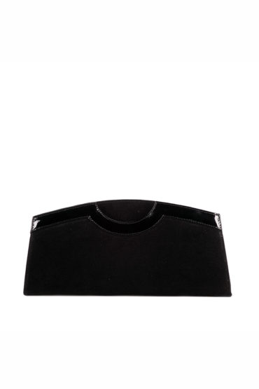 AIL Bags Kate Black Convex Clutch Front
