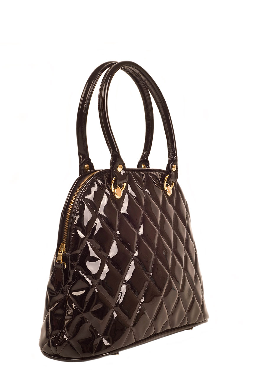 AIL Bags Kate Black Quilted Side