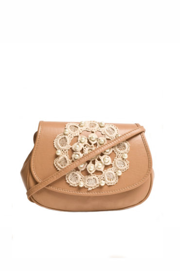 AIL Bags Macrame Nude Front