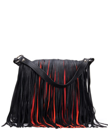 AIL Bags Fringe Aniq Red Front