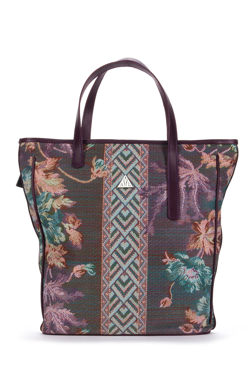 AIL Bags Beach Flowers Front
