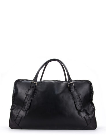 AIL Bags for HIM Black Travel XXL Front