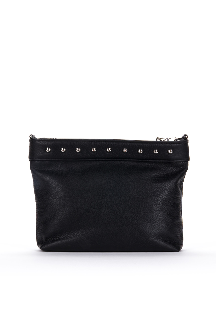 AIL Bags CH2 Vinyls Black Clutch 2 Back