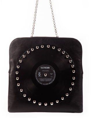 AIL Bags CH2 Vinyls Black Eco Shoulderbag Front