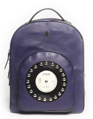 AIL Bags CH2 Vinyls Deepblue Backpack Front