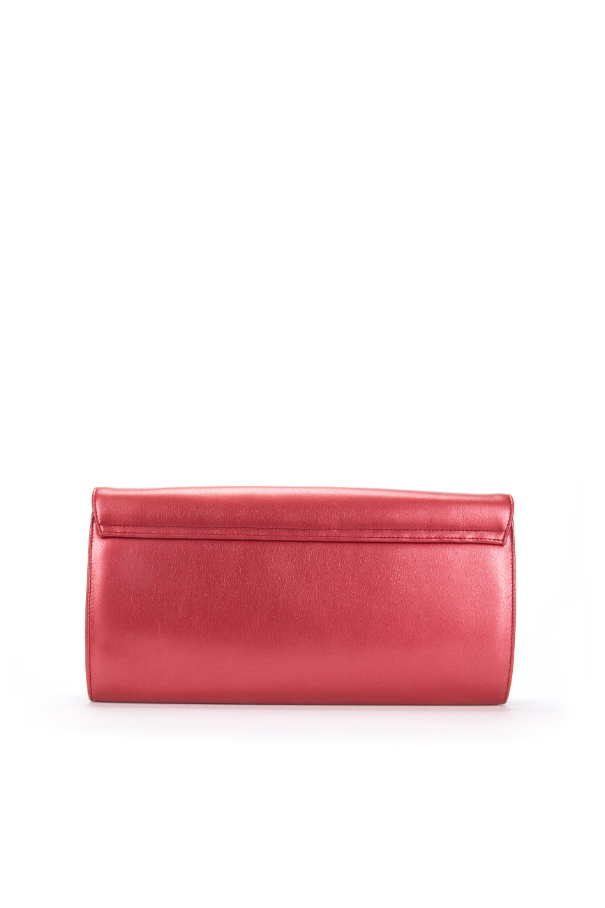 AIL Bags Iconss Red Clutch Back