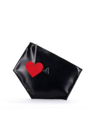 AIL Bags Matrix Clutch Black