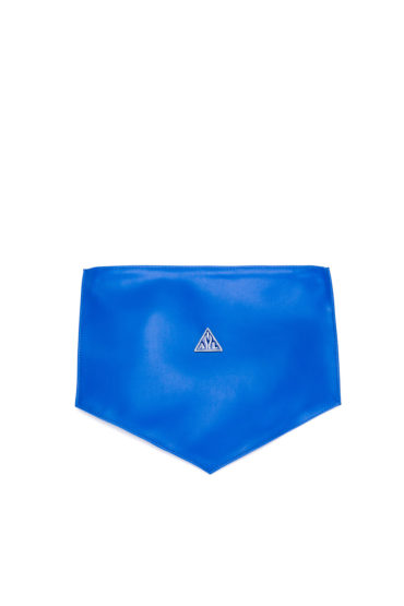 AIL Bags Matrix Clutch Blue