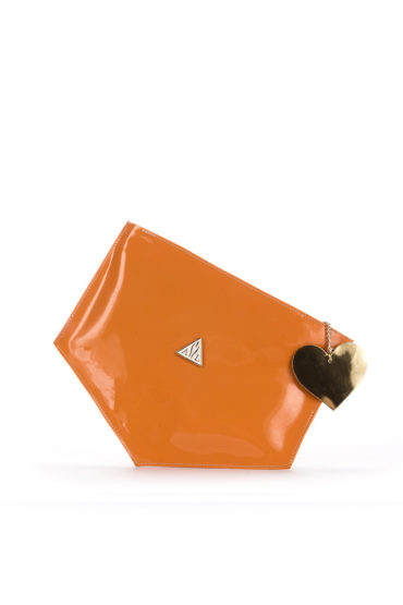 AIL Bags Matrix Clutch Orange