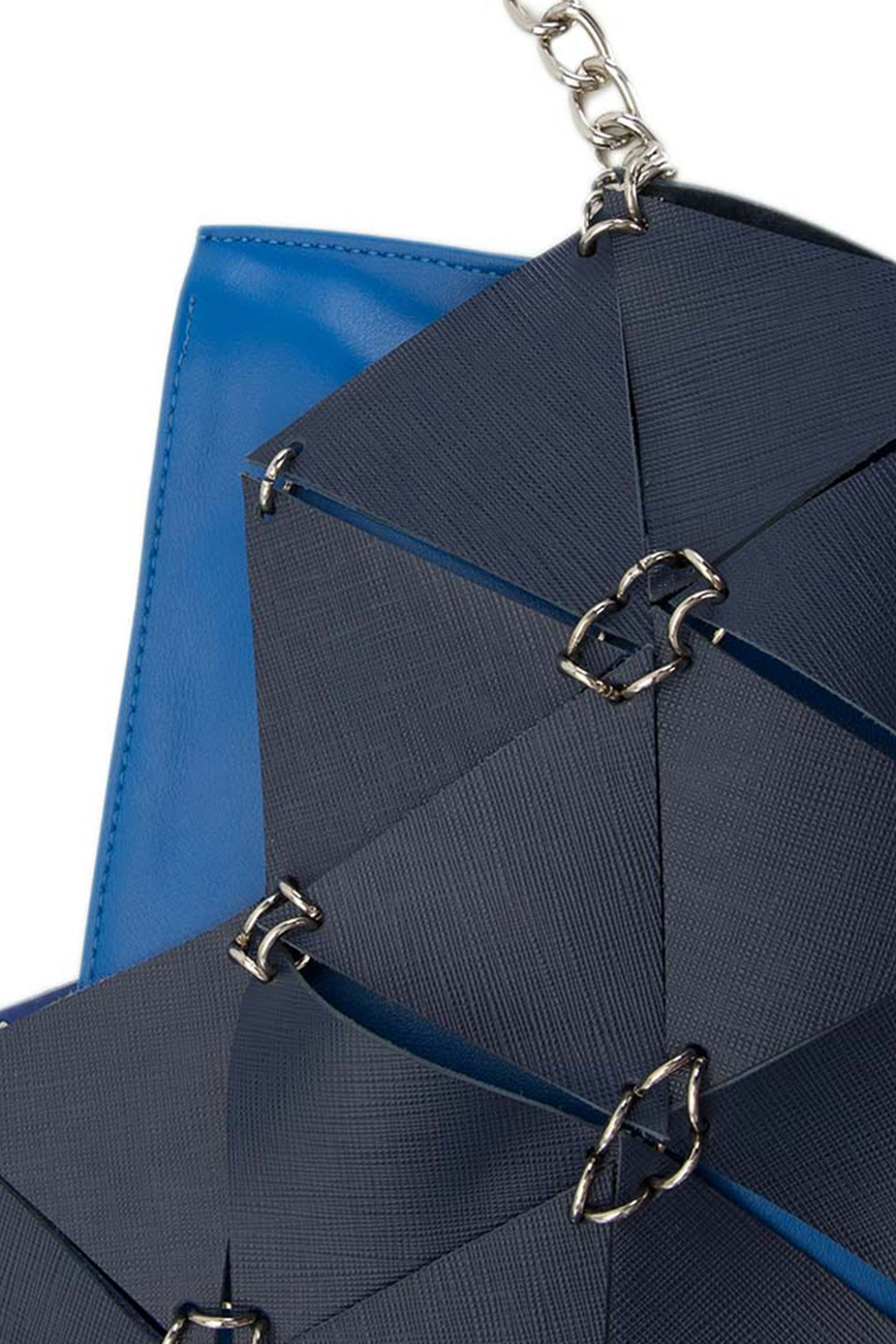 AIL Bags Matrix Double Blue Detail