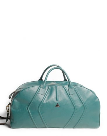 AIL Bags Turquoise Weekender Front