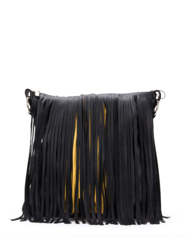 AIL Bags Yellow Fringe Front